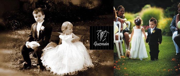 Niño con chaqué (boda)