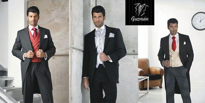 Protocolo en bodas, chaqués Guzmán