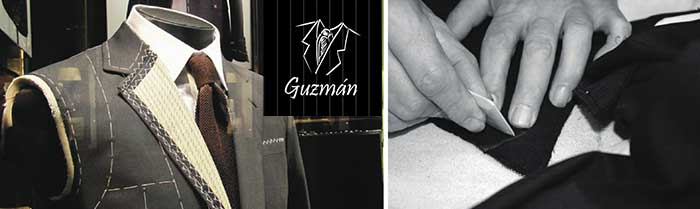 Detalle chaqué a medida Guzmán