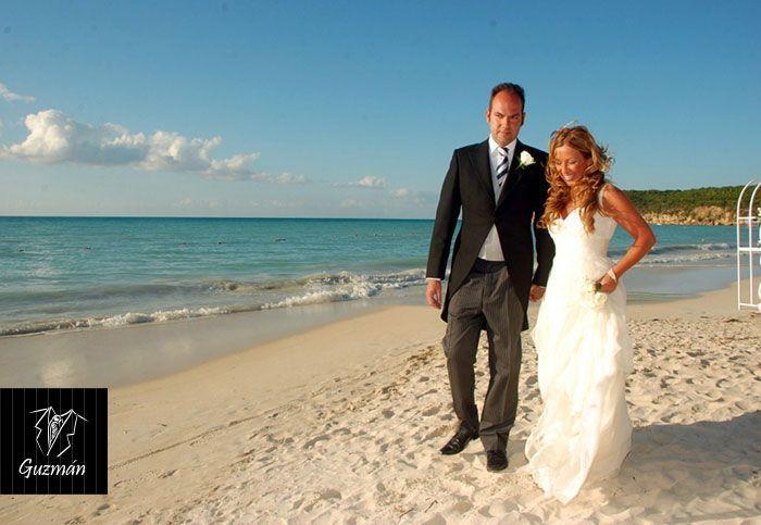 Chaqué, boda en la playa