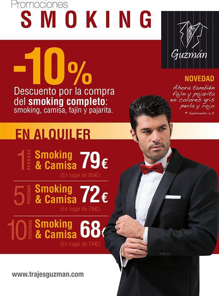 Promociones alquiler y venta smoking