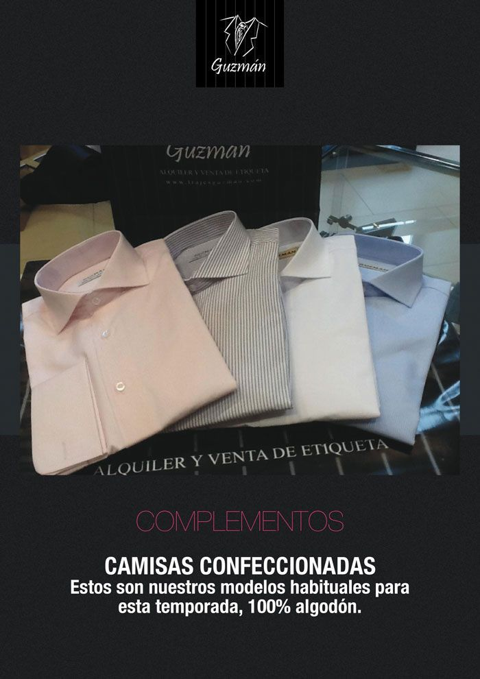 Camisas para empresas y colectividades